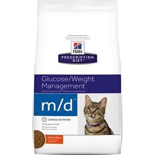 Hills 貓 m/d md 4磅 血糖/體重管理 希爾斯 希爾思 處方食品 處方飼料 4723