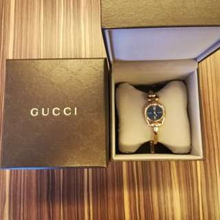Authentic Gucci gold watch