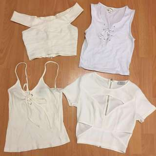 White Crops/Tops