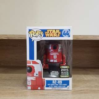 Star Wars Pop Funko R2-R9 2015 Galactic Convention Exclusive