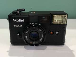 Rollei Flash 35 Film Camera