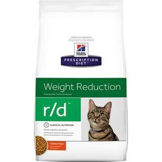 Hills 貓 r/d rd 4磅 健康減肥 希爾斯 希爾思 處方食品 處方飼料 貓用 6158
