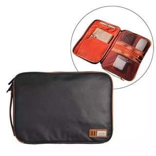 Waterproof Canvas Organizer Laptop Sleeve Case Bag for MacBook Air/Pro Retina 13 Inch/ASUS Zenbook(Intl)