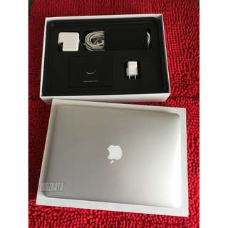 "MACBOOK AIR 13"" Early 2015, Intel i5, SSD 128 Gb, RAM 4 Gb, Mulus"