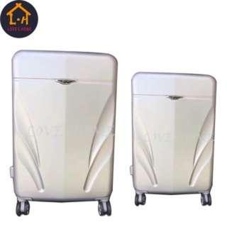 "2pcs Universal Wheel Rolling Suitcase Luggage 25""21"