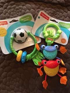Fisher Price bb玩具