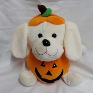 Stuffed toy halloween doggie