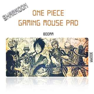 One Piece Rubber Gaming Mouse Pad / Mousepad
