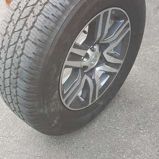 Bridgestone dueler 4 tires only