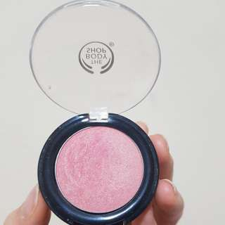 The body shop blush on