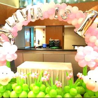 Happy birthday special balloon decorations