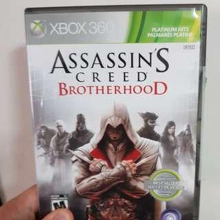 Assassins Creed Brotherhood Xbox 360