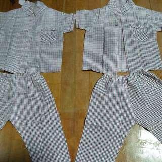Pyjamas.  A little defect.