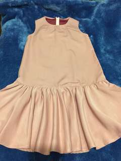 recarousell rose pink dress