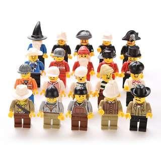 20pcs Men Minifigures