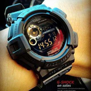 GSHOCK CASIO MUDMAN DIVER : 1-YEAR OFFICIAL WARRANTY : 100% ORIGINALLY AUTHENTIC G-SHOCK RESISTANT in TOUGH☀️SOLAR POWER DEEP ELEGANT BLACK STEALTH MATT ABSOLUTELY TOUGHNESS Best Gift For Most Rough Users : G-9300GB-1DR / G-9300 / G9300 / G9300GB