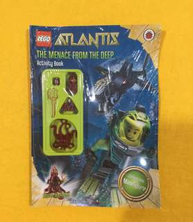 🆕Lego Atlantis: The Quest for the Lost City Paperback