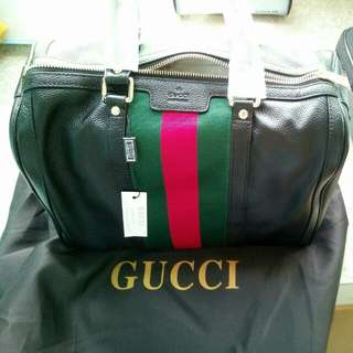 Gucci bag authentic genuine leather