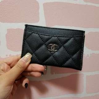 Chanel 卡包 卡片套 卡套 香水櫃贈品 card holder LV Gucci BV