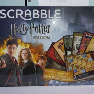 Scrabble Harry potter special edition
