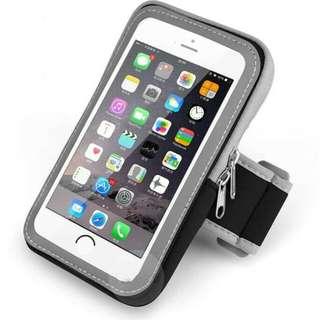 "Waterproof Double pocket mobile phone  5.5"" sport arm bag"