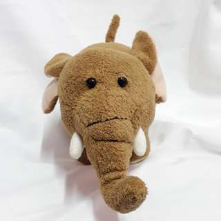 Stuffed toy elephant