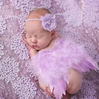 Baby photo shoot Props angel Wings