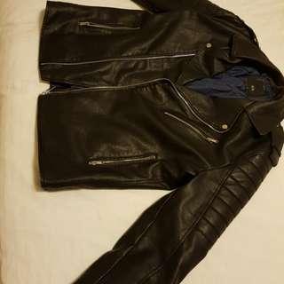 Iconic leather jacket
