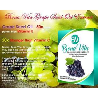 Bona Vita Grapeseed Oil Extract