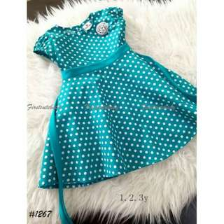 KIDS ENGLISH COTTON DRESS