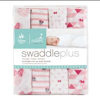 Aden & Anais Minnie Mouse Swaddles