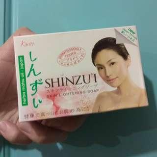全新日本shinzui 美白香皂