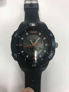 Touch digital watch