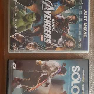 Avenger and Soloist DVDs as a bundle