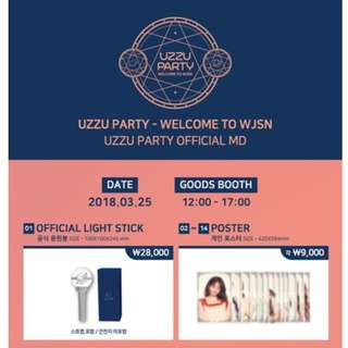 【Korea Buying Service】WJSN UZZU PARTY MD