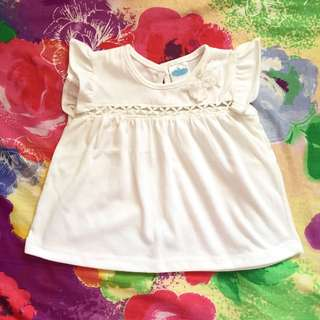 Crib Couture Ruffled Sleeve Top