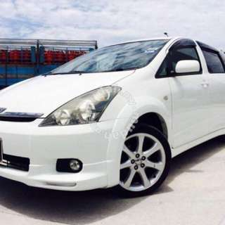 2006 Toyota Wish 2.0 Tiptop Condition