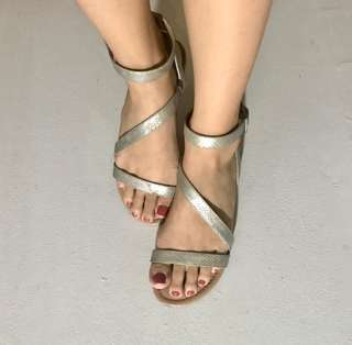 Call it Spring Cross Strap Sandals