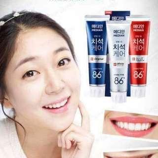 韓國美白牙膏MEDIAN