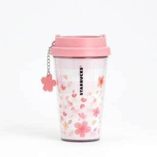 Starbucks 櫻花雙層隨行杯附櫻花吊飾 12oz 現貨