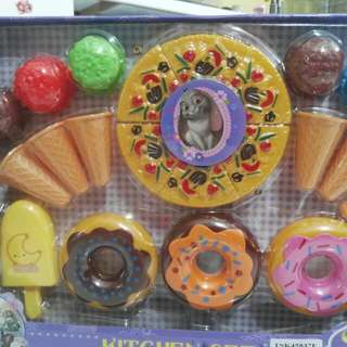 Ice Cream Pizza Pretend Toys