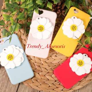 Case iphone flower mirror case iphone 5