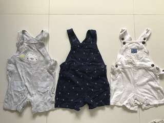 Rompers for baby boys