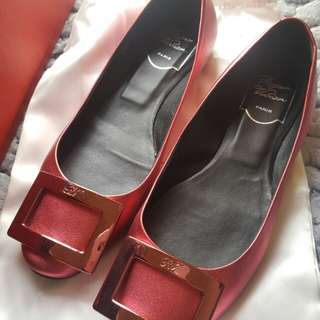 Roger Vivier Shoes Red 36.5