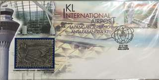 KLIA first day cover mint