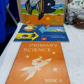 #0329 - Vintage 1960s Primary school science books