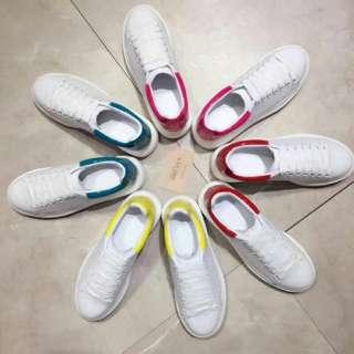 最高質量 真皮鞋 休鞋閒 $600 男裝鞋 女鞋 McQueen