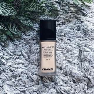 ⚡️Chanel Mat Lumière SPF15 (30ml) - Authentic