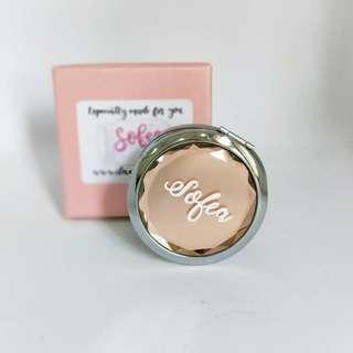 Name customised pocket mirror
