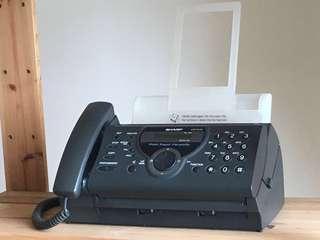 Fax & Telephone Sharp UX-P410